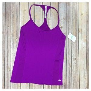 NWT ALO Yoga Riptide Seamless Tank - Purple Size L